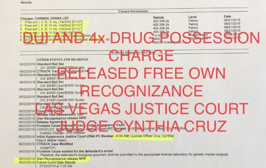 DUI WITH 4x DRUG CHARGES - UNACCOUNTABLE JAIL RELEASE
