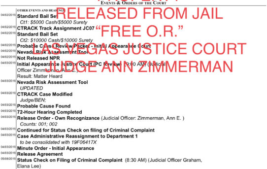 POSSESSION OF GUN BY EX-FELON AND POSSESSING STOLEN PROPERTY - UNACCOUNTABLE JAIL RELEASE