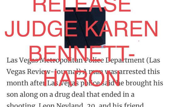 """CHILD ABUSE/ NEGLECT - """"O.R."""" RELEASE JUDGE KAREN BENNETT-HARON"""