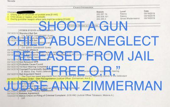 """SHOOT A GUN + CHILD ABUSE - """"O.R."""" RELEASE JUDGE ANN ZIMMERMAN"""